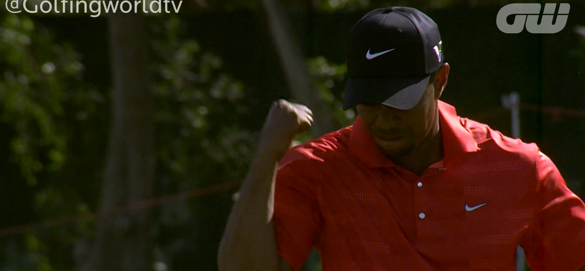 Holly Sonders Slip Golfing world: tiger is back in practice & poulter ...